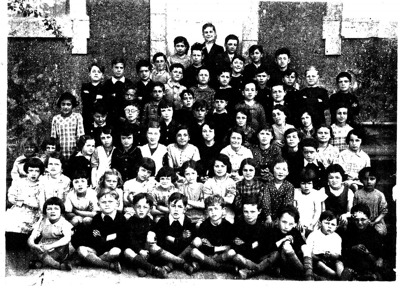 1938 - 2 classes primaires des grands ajoncs