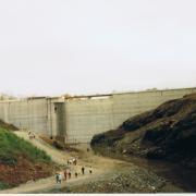 Barrage avant mise en eau 01