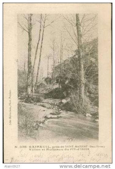 Vallon et ruisseau du Puits d'Enfer