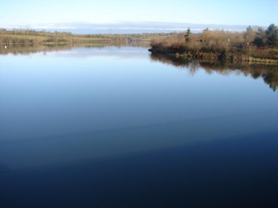 La Touche Poupard (depuis le barrage)
