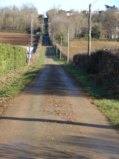 Chemin de la Rougerie