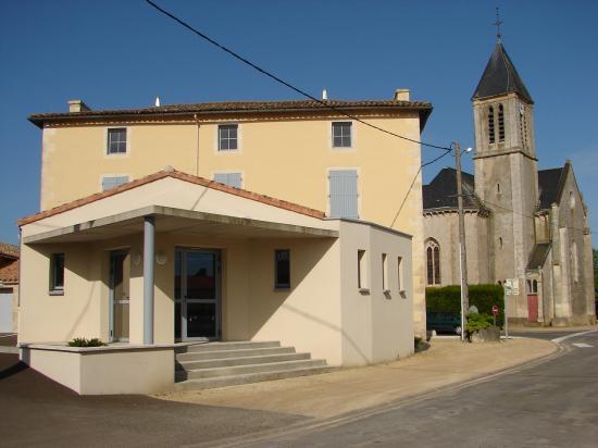 Mairie et église