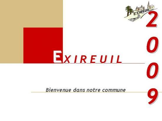 Présentation de la commune d'EXIREUIL
