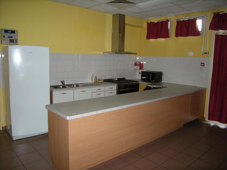 Salle des Familles - Coin cuisine