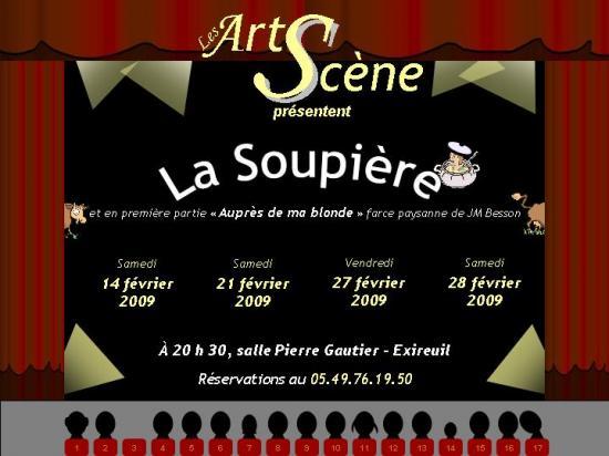 Les ArtScène - Théâtre à Exireuil