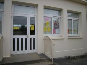 Entrée salle des maîtres - Ecole primaire