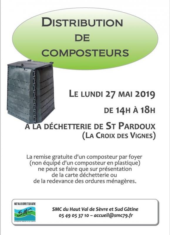 Composteur st pardoux