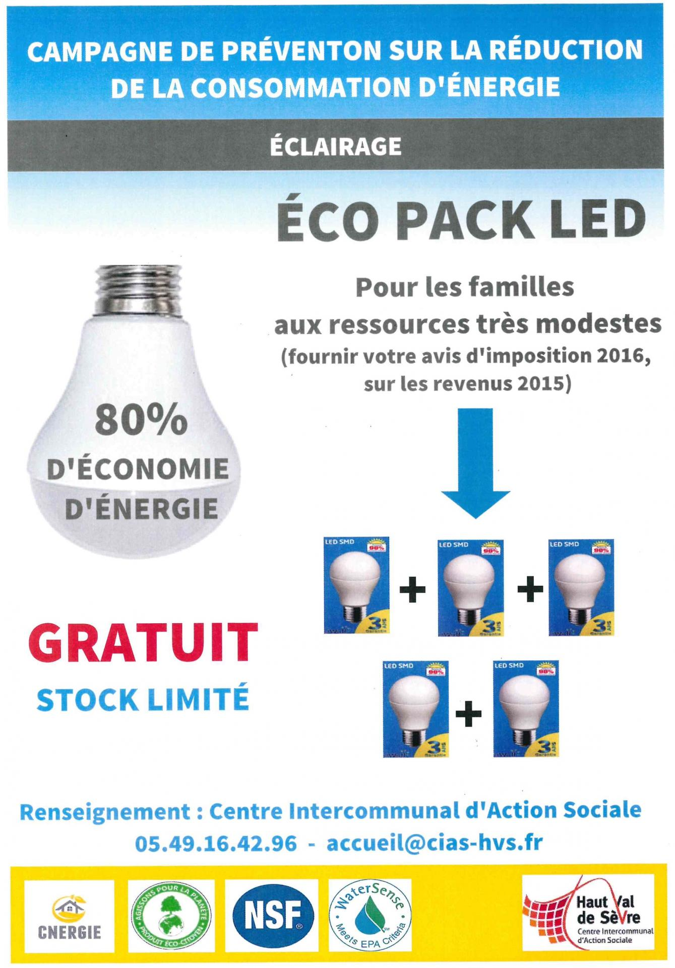 Eco pack led
