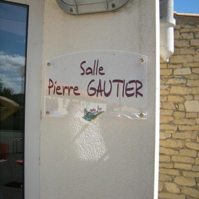 entrée salle Pierre Gautier