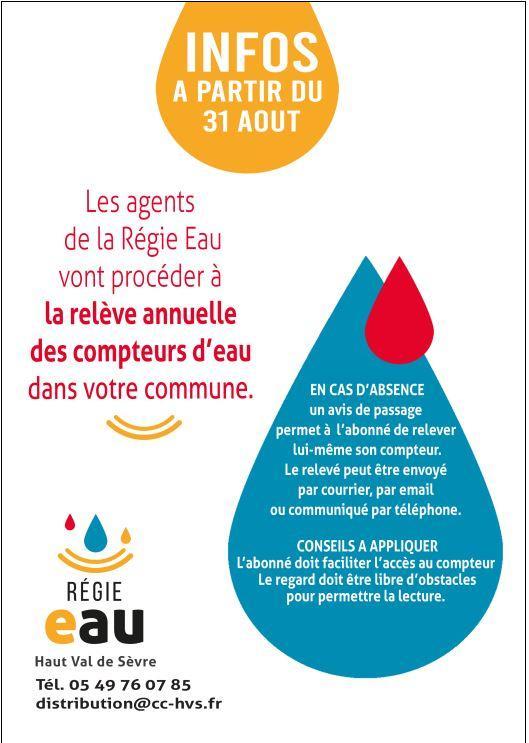 Regie eau compteur