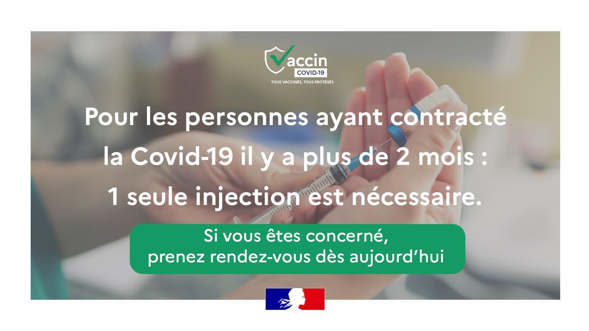 Vaccination pour les personnes contaminees 002
